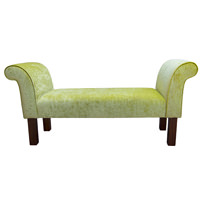 Settle in a Pastiche Slub Lime Fabric