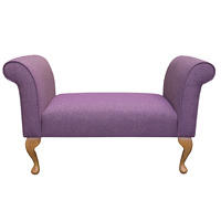 "Small Settle in an Arran Heather Fabric  (41"")"