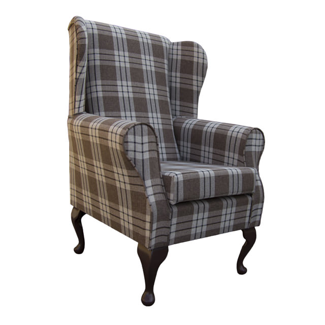 Wing Back Fireside Armchair Small Westoe Orthopaedic in ...