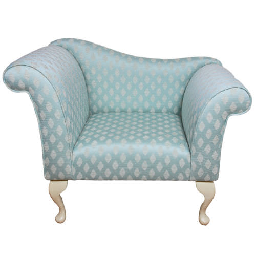 Gorgeous Designer Armchair Upholstered In A Duck Egg Blue