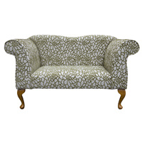 Double Ended Chaise Longue in a Crown Modern Olive Fabric